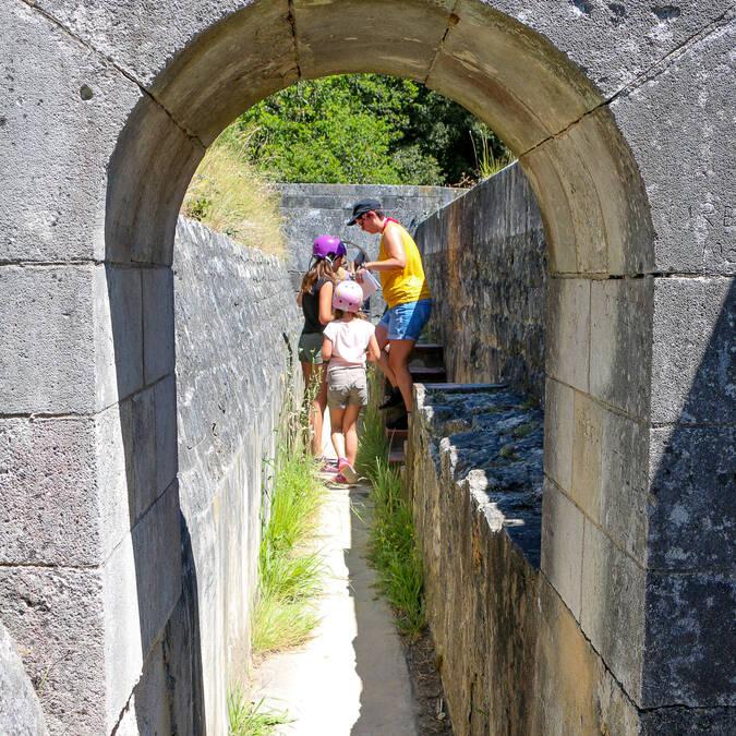 Sur le chemin de ronde du Fort