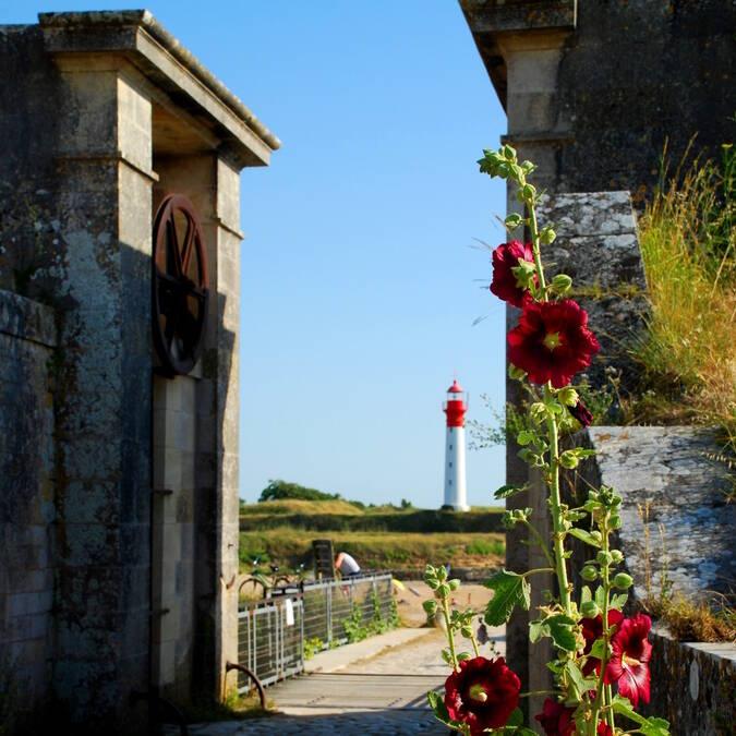 Entrez, Bienvenue à l'île d'Aix ! - © Rodrigue Roux