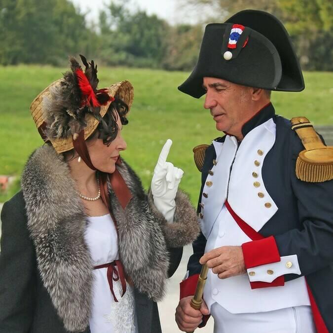 """Visite théâtralisée """"Napoléon, à la veille de l'exile"""", île d'Aix, Rochefort Océan"""