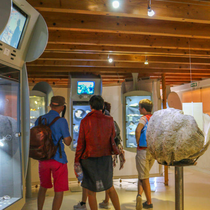Apprendrez les différentes étapes de fabrication de la nacre au Musée de l'île d'Aix - © Office de tourisme Rochefort Océan