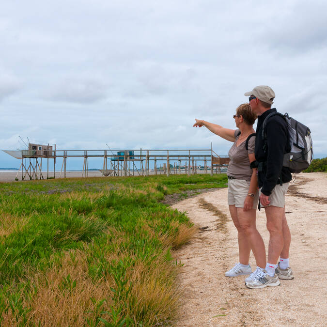 Tour de l'île Madame à pied à la découverte des meilleurs points de vue sur le littoral charentais - © Vincent Edwell