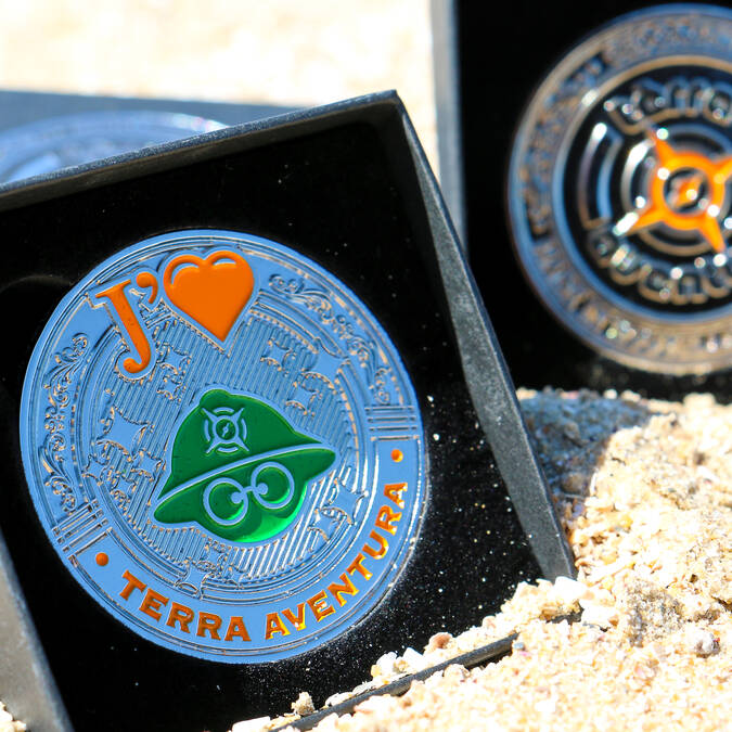 Médaille Terrà Aventura