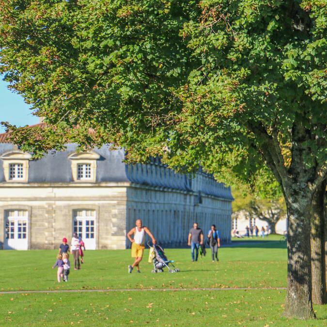 jardins de la Corderie Royale ©J. Paulet