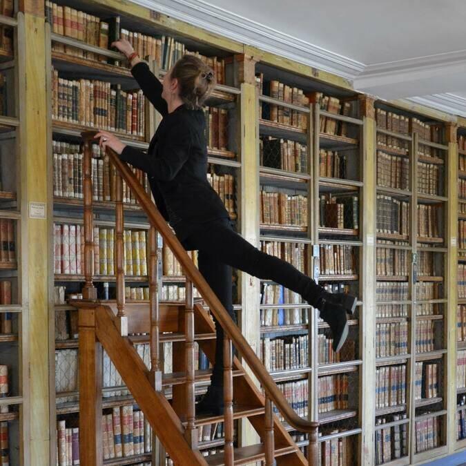 Bibliothèque de l'Ecole de Médecine Navale de Rochefort - © Office de tourisme Rochefort Océan