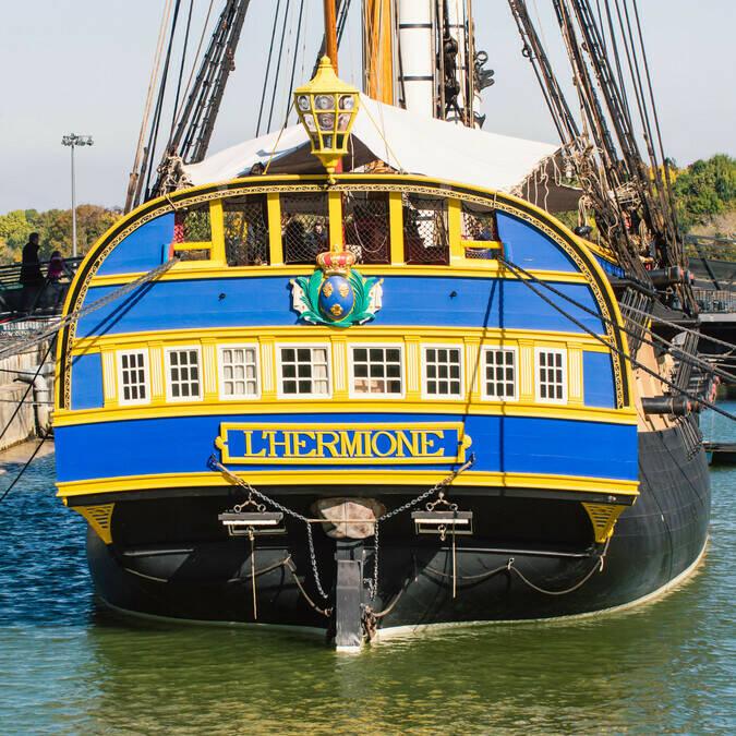 Rochefort, port de l'Hermione - © Laurent Pétillon