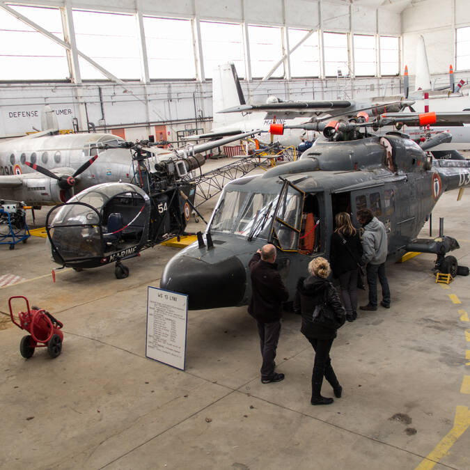 Guided visit at the Museum of Naval Aviation in Rochefort- © David Compain - Ville de Rochefort