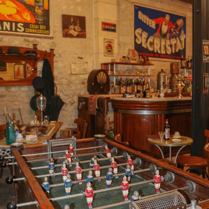 Le bistrot du Musée des Commerces d'Autrefois à Rochefort - © Office de Tourisme Rochefort Océan