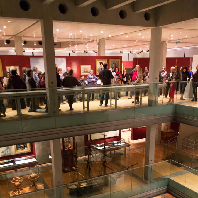 Découvrez l'histoire de la ville arsenal au Musée Hèbre de St clément à Rochefort - © David Compain - Ville de Rochefort