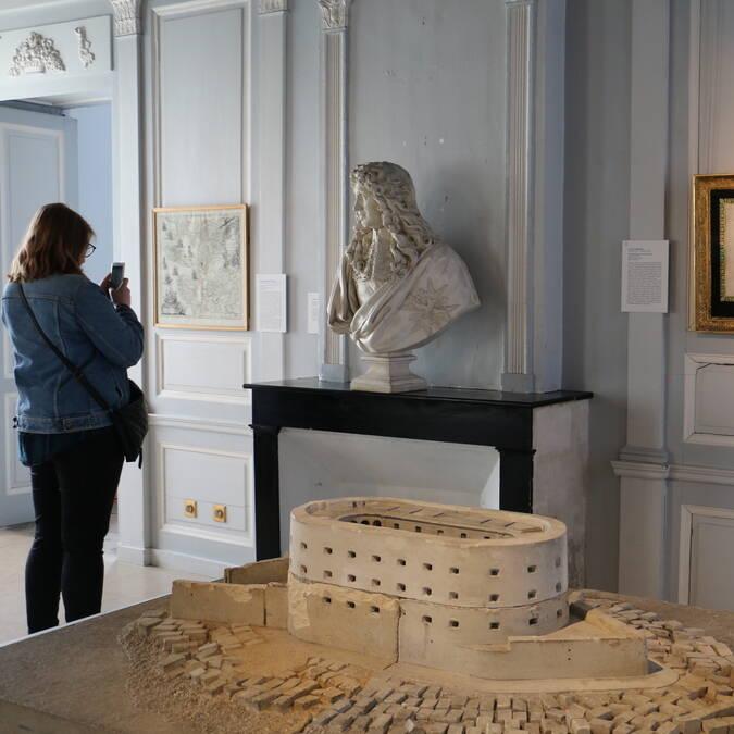 Maquette du Fort Boyard au Musée de la Marine à Rochefort - © Office de tourisme Rochefort Océan