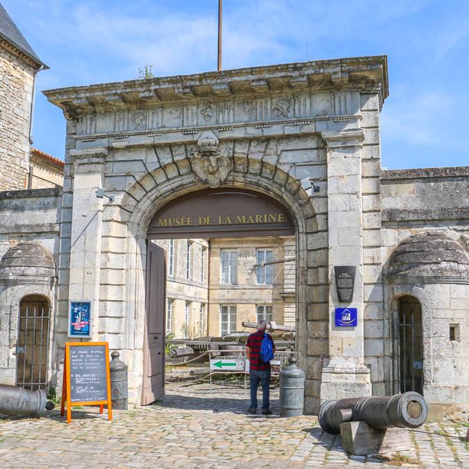 Le musée national de la Marine, Rochefort Océan © Office de Tourisme Rochefort Océan Julie Paulet