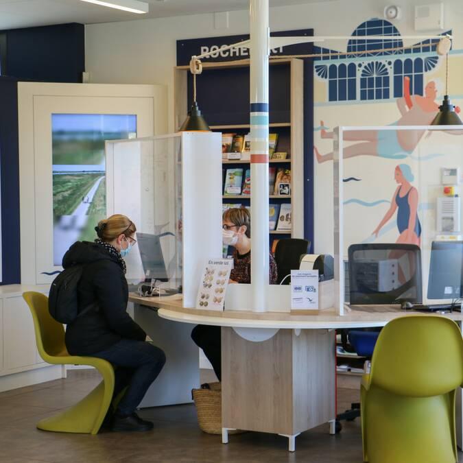 Espaces Accueil - Bureaux d'Information Touristique de l'Office de Tourisme Rochefort Océan