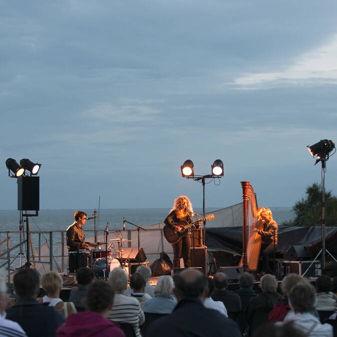 Concert à Fouras-les-Bains pour la Nuit des Carrelets - © Marie-Françoise Boufflet