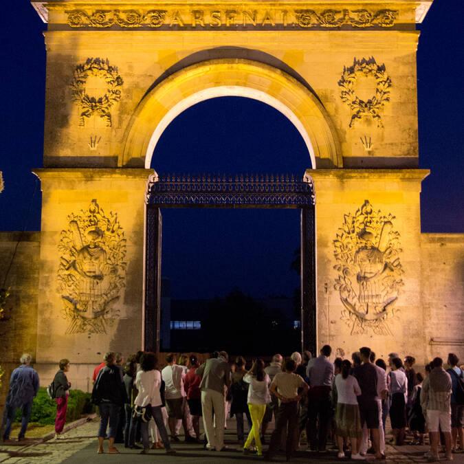 Les Noctambulations, Porte de l'Arsenal à Rochefort - © David Compain - Ville de Rochefort