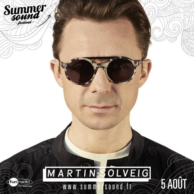 DJ Martin Solveig - le 5 Août 2017