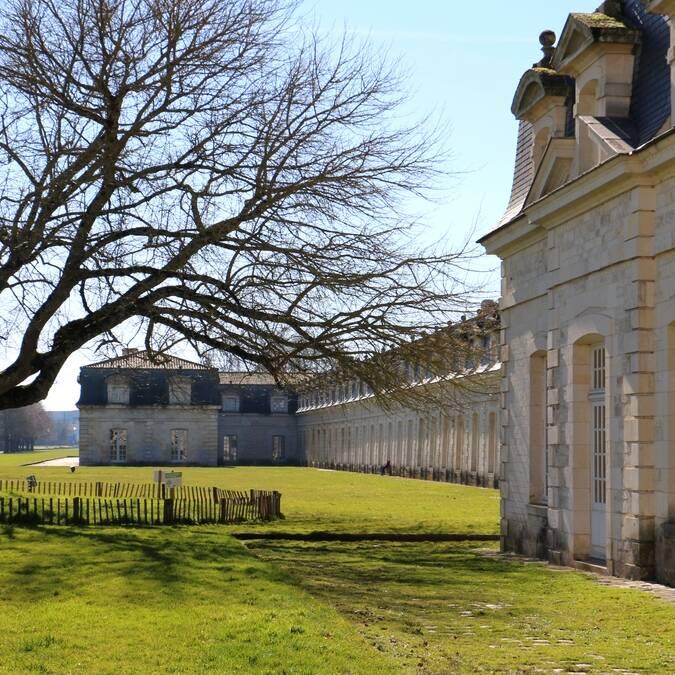 Bâtiments et jardins de la Corderie Royale ©M.De Villartay