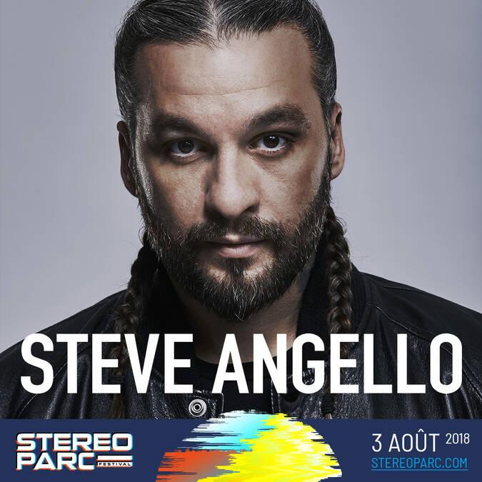 Steve Angelo à Stereoparc le 3 août 2018