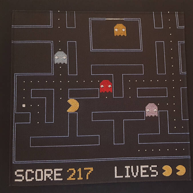 PACMAN de Thierry Tarrade ©Chrystelle ECALE
