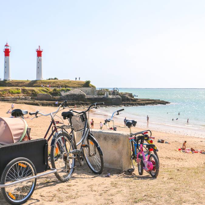 Rochefort Océan mit dem Fahrrad