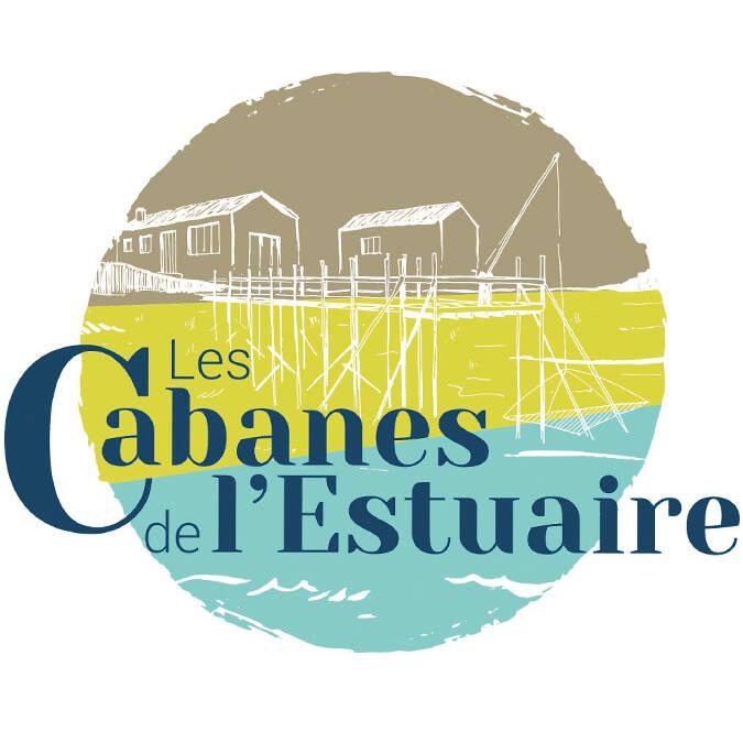 Logo des Cabanes de l'Estuaire